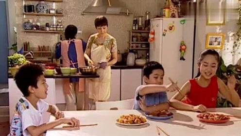 刘梅要让孩子体验山区生活,天天吃白薯,还不用电改点蜡烛