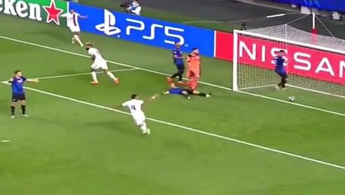 欧冠这该死的足球巴黎补时逆转亚特兰大,这会是登基的开始吗