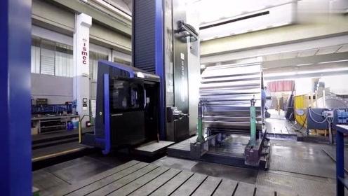 科技机械:数控机床,镗床加工视频