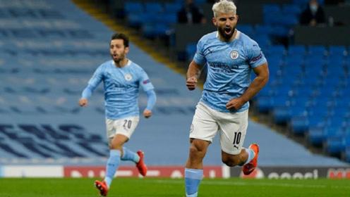 阿圭罗扳平,京多安、托雷斯进球,欧冠首轮曼城3-1逆转胜波尔图