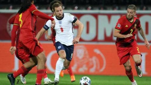 欧国联-凯恩哑火默滕斯世界波,比利时2-0复仇英格兰