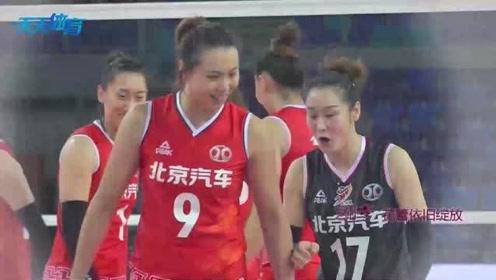 北京女排主心骨 31岁曾春蕾依然绽放