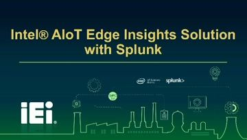 Intel AIoT Edge Insights Solution With Splunk