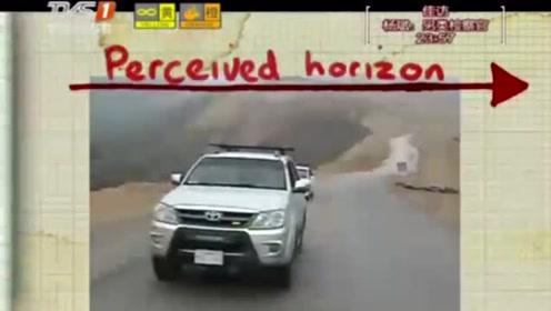 汽车因重力在向上坡滑行外国小伙拍下视频,揭示了神秘现象