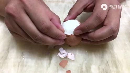 快速煮鸡蛋的妙招-视频#生活窍门#