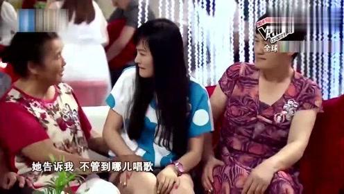 """中国好声音:美女自称""""公鸭嗓"""",结果竟让3导师转身!好听!"""