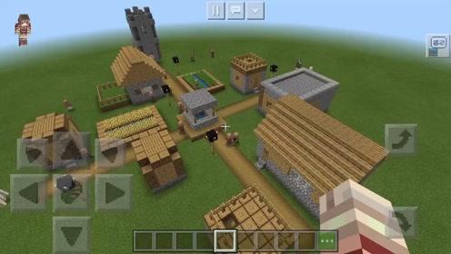 老版本村庄复原!下期出复原过程!#我的世界