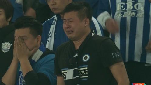 保级大战太残酷!永昌球迷赛后痛哭 武汉球员中圈打气庆祝