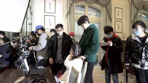 BTS: Lin Yi gave Xu Lu a massage, and asked for money | Love Scenery