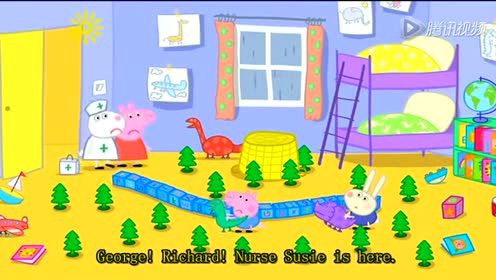 猪3Peppa_Pig8_Richard_Rabbit_Comes_to Play