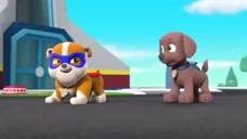 汪汪队立大功第三季:小力扮演超人狗,卫星故障电视都看不了