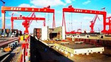 江南造船厂又开设的新航母建造基地,轮廓已经