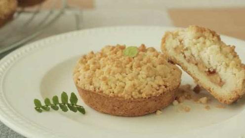 经典下午茶小点:教你做苹果脆饼!