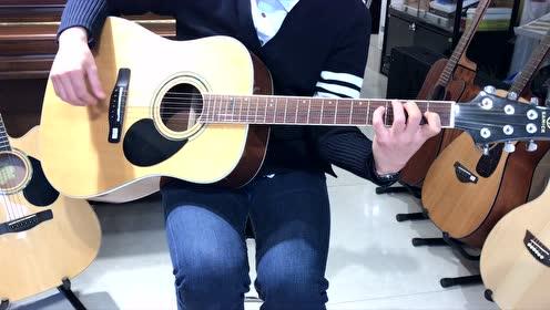 韩国三益SAMICK吉他 型号:DS-100