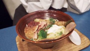人均80元? 日本百大!叉烧配鸭肉和培根 挑战豚骨味道的鸡汤拉面