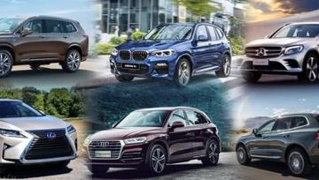 6台最热门豪华品牌SUV,谁的后排空间最大?谁的性价比更高? - 大轮毂汽车视频