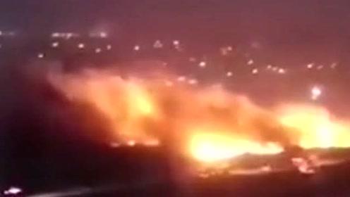 京津冀多地火灾
