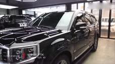 2020款起亚霸锐4WD,拿到店里装饰那一刻,简直太酷了!