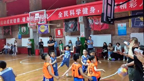 育华篮球(小篮球比赛天津赛区冠军)