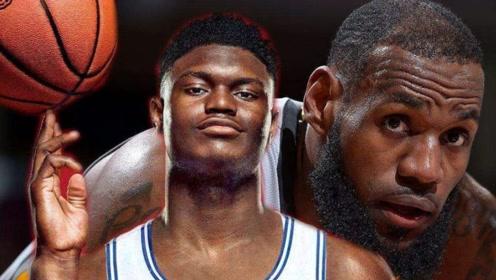10佳榜单:NBA复赛看点(1),最强状元的对决,詹姆斯vs锡安