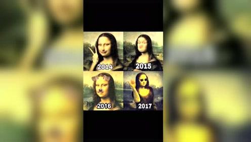 论自拍的进化史,16年太真实吧,果然时尚是个轮
