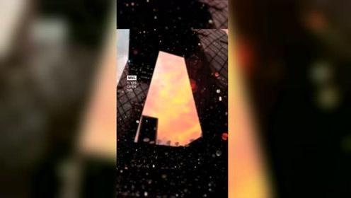 今晚北京的天空是橘子味的!北京晚霞有多美?跟随网友的镜头一起走进童话世界吧!素材来源于网络