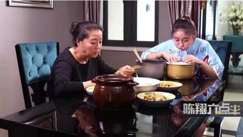 陈翔六点半:美女大胃王,吃碗抱着盆,母亲的心在滴血!