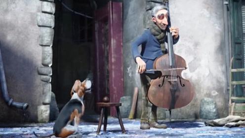孤独的音乐家遇上一条烦人的狗狗,却因此获得一个难寻的知音