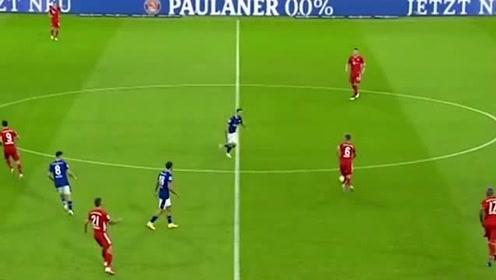 德甲新赛季首球诞生,格纳布里停扣射一气呵成,拜仁实力碾压对手,太痛快了