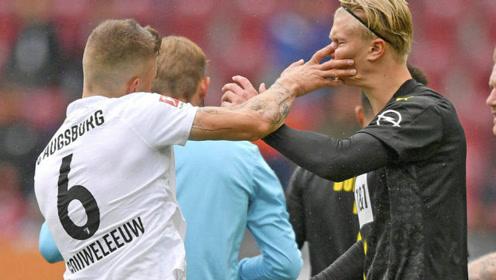 德甲-卡利朱里传射桑乔失良机 多特客场0-2不敌奥格斯堡