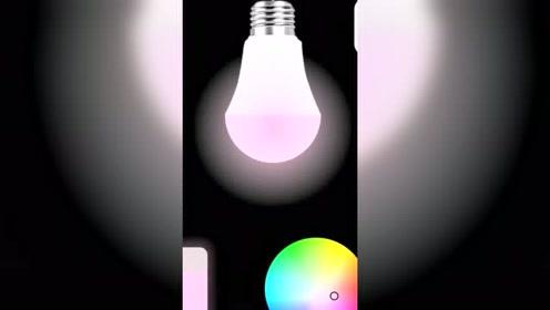 代码之美在于创作的灵感,彩色灯视频。