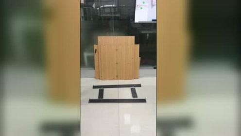 (落地高柜)安装视频#生活窍门#