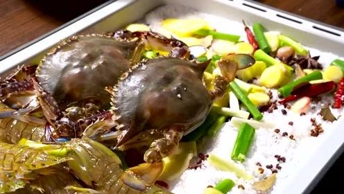 高端的美食往往只需要最朴素的烹饪方式,古法焗海鲜简单好吃!