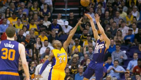 布克NBA名场面(五)用科比的方式在科比面前跳投 还加了飘逸