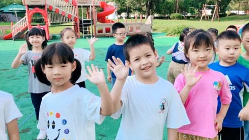 青浦区重固幼儿园0909足球普及课训练集锦#重固幼儿园