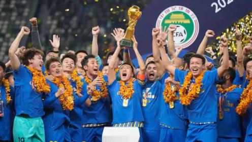 请高呼:苏宁总冠军!2020中超落下帷幕,特殊的赛制,苏宁是冠军