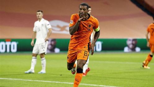 荷兰3-1波黑,德波尔迎来首胜!维纳尔杜姆梅开二度,德佩进球!