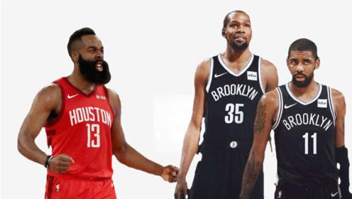 1换5!火箭与篮网达成一致,哈登、杜兰特、欧文将组成超级三巨头