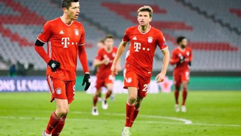 欧冠:莱万破门 拜仁慕尼黑3-1萨尔茨堡 比赛集锦!