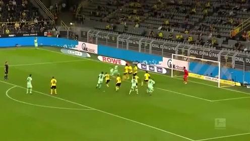 德甲首轮五佳球:拜仁两席,哈兰德入选!