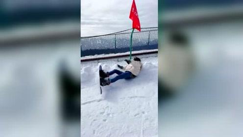 滑雪不摔跤就不算完美的滑雪体验