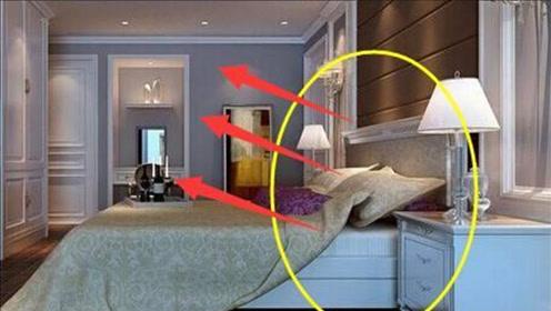 不管家里多有钱,床头切记不能朝向4处,不是迷信,放错抓紧改正