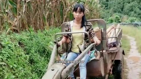 云南农村姑娘,在大山生活种地养活自己,父母却担心她的未来