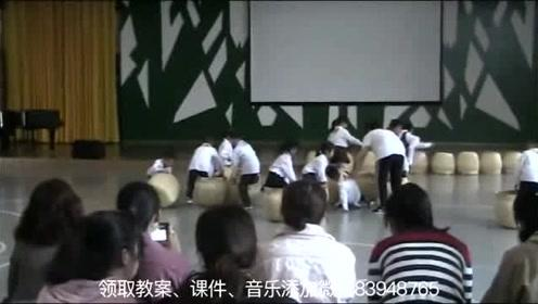 幼儿园小大班混龄体育活公开课动《玩转笆斗》幼儿园公开课