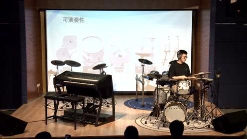 吟飞电子乐器产品发布会昆明站青年演奏家时旭现场演奏EFNOTE 5