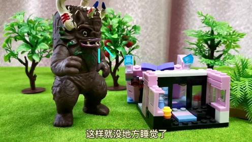 玩具故事:佩奇的房子被人破坏掉了,会是谁呢