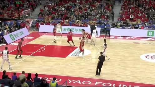 【回放】2020姚基金慈善赛:中国篮球明星队vs男丁格尔明星队第1节