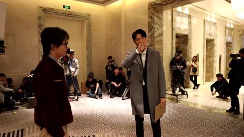 BTS: Chen Jingke's birthday wish | Hello Mr. Gu
