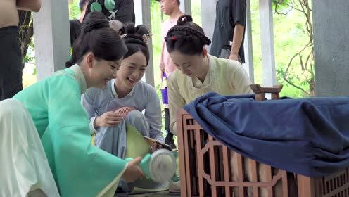 BTS: ShiYi and LianFang are friends who teased the dog together | The Sword and The Brocade