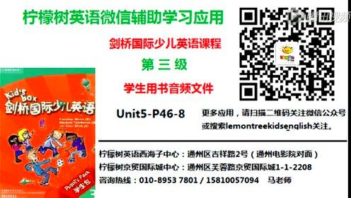 苏教版四年级英语下册(译林牛津4B)Unit 5 Review and check